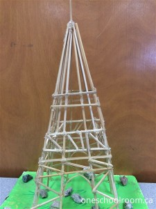 Eiffle Tower model