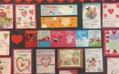 St Valentin Bulletin Board